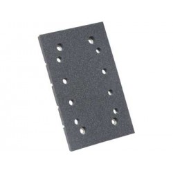 Rubber Plate for RUPES LE21AC with Velcro