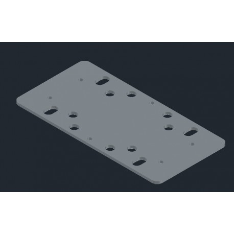Sander Plate for BOSCH GSS 230 without Velcro