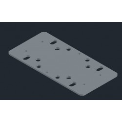 Sander Plate for BOSCH GSS 230 with Velcro