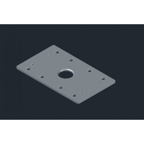 Sander Plate for BOSCH GSS 16 without Velcro