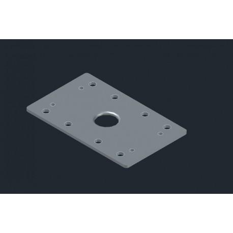 Πλάκα ελαστική για BOSCH GSS 16A με VELCRO