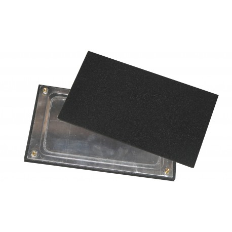 Rubber plate suitable for RUPES SS70
