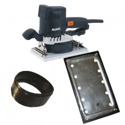Sander RUPES SSPF and free 1 Rubber plate and 1 Rubber ring worth 27,00€